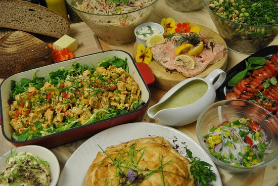 pj taste autumn cold buffet spread