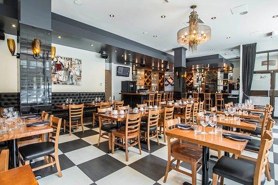 Hotel Royal William: Breakfast Area