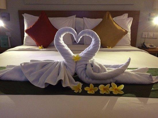 เมอร์เคียว บาหลี ฮาเวสท์แลนด์ คูตา: Honeymoon Set Up