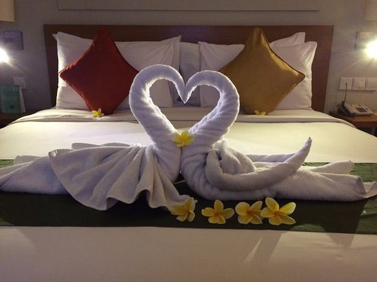 Mercure Bali Harvestland Kuta: Honeymoon Set Up