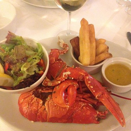 Port Appin, UK: My lovely lobster!