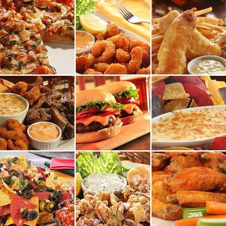 Hampton Inn Greensboro Airport : Hot Food Collage