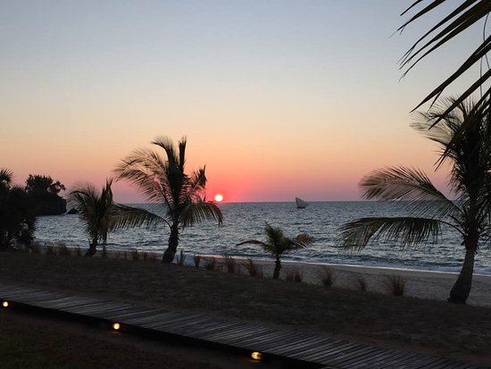 Anjajavy L'Hotel: Sunset from the room