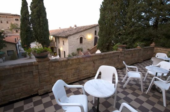 Villa Pieve Country House: Terrazza