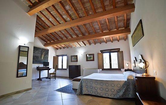 Villa Pieve Country House: camera matrimoniale