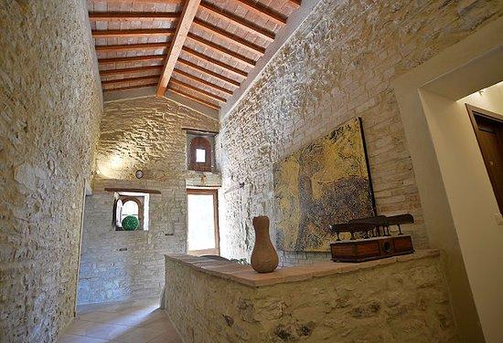 Villa Pieve Country House: corridoio