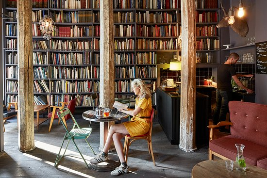 Image result for Used Book Cafe - Paris