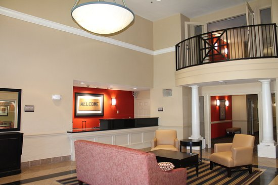 Extended Stay America - Houston - Med. Ctr. - NRG Park - Braeswood Blvd: Lobby and Guest Check-in