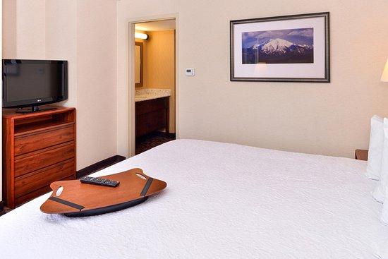 Hampton Inn Denver West Federal Center: King Bed Room Amenities
