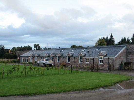 Meikleour, UK: The bungalows