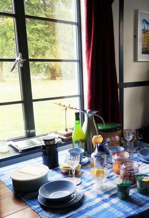 Walsingham, UK: Breakfast in the Sterling Suite