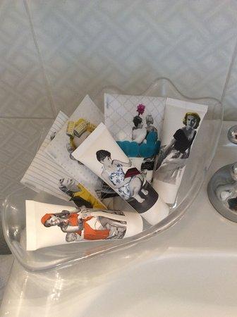Hotel Italia: Très bon idée avec image