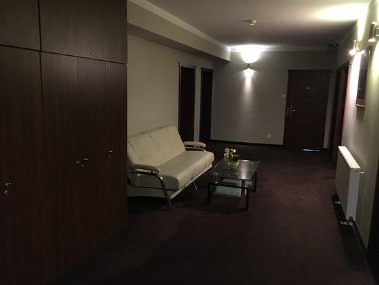 Zory, Polonia: Hotelflur