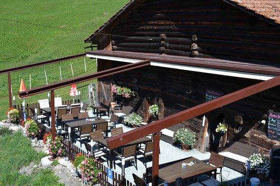Tschappina, Suiza: Sonnenterrasse