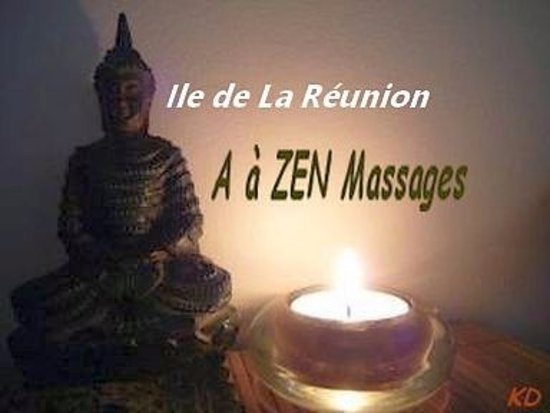 Le Tampon, Réunion: A à ZEN MASSAGES  ST PIERRE LA REUNION (logo)