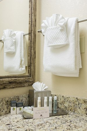 DoubleTree by Hilton Hotel Cocoa Beach Oceanfront: Guest Bath Vanity