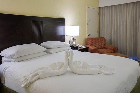 DoubleTree by Hilton Hotel Cocoa Beach Oceanfront: King Bed with oceanview