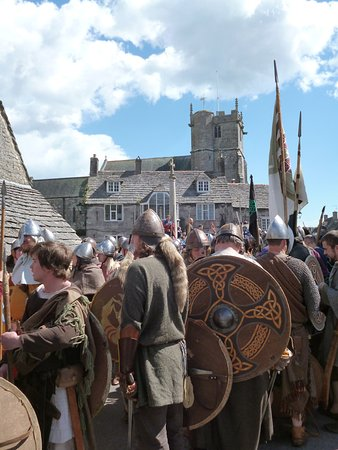 Isle of Portland, UK : Vikings & Saxons at Corfe (NB not always there!)!