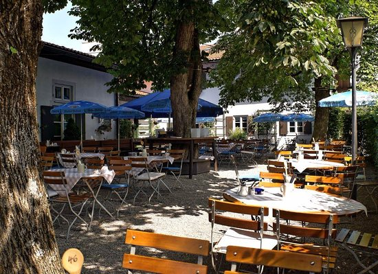 ‪‪Seehausen am Staffelsee‬, ألمانيا: Biergarten‬