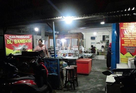 Image result for warung ikan bakAR BU BAMBANG