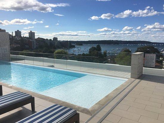 Double Bay, Australia: Rooftop pool