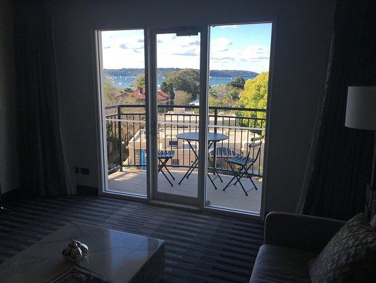 Double Bay, Australia: Balcony