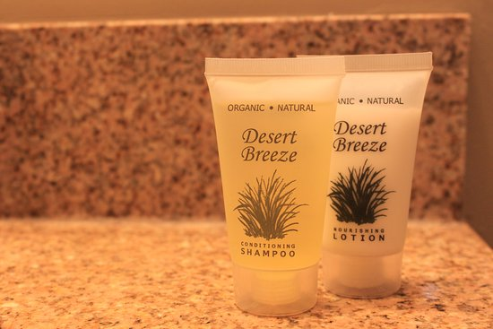 St. Charles Hotel: Organic Toiletries