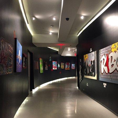 Cachet Boutique : Corridor / lobby