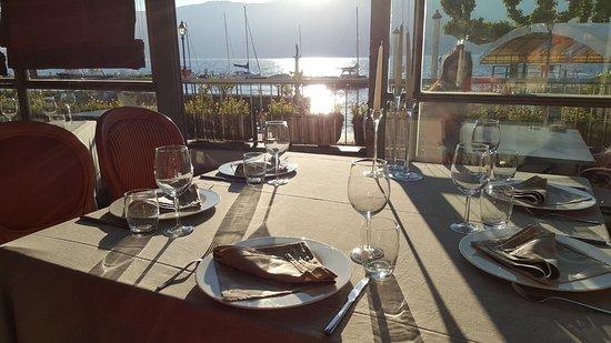 Albergo del Sole: tavolo colazione-ristorante