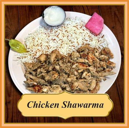Flushing, MI: Chicken Shawarma