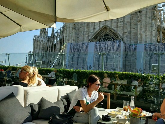 Il bar, terrazza Rinascente. - Picture of Il Bar, Milan - TripAdvisor
