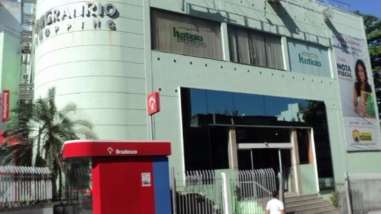 Duque de Caxias, RJ: Entrada do Shopping Unigranrio