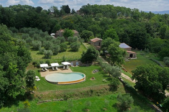 Ciciano, Italia: View from the sky