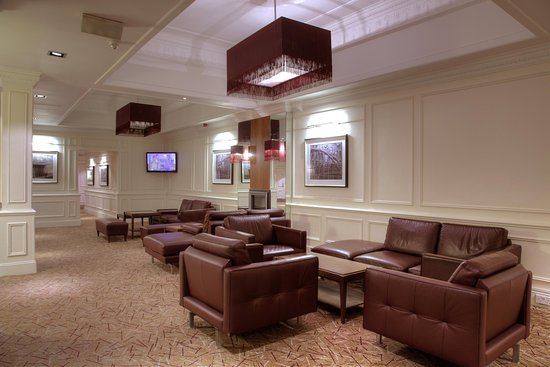 Hilton Edinburgh Grosvenor: Lounge