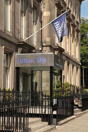 Hilton Edinburgh Grosvenor: Townhouse Street View