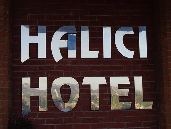 Halici Hotel Pamukkale: Logomarca do hotel.