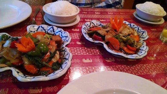 Cha Da Thai: Pad Kra Pao (Favorite Classic Thai Dish for spice and herbal flavors)