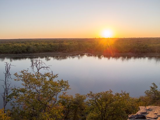 Mopani Rest Camp: View from the restaurant