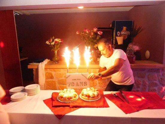 Quillan, Francia: un gateau d'anniversaire super bon