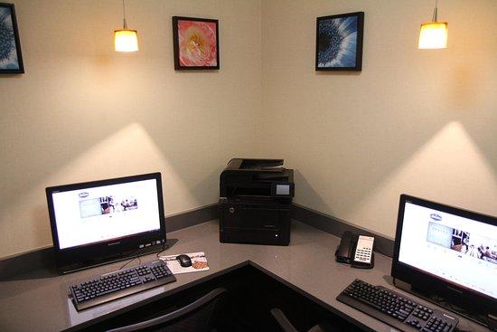 Greeneville, TN: Hampton Inn Business Center