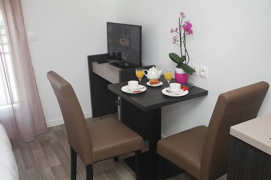 Residence odalys paris levallois updated 2018 apartment for Appart hotel 33
