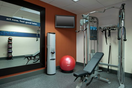 Hampton Inn Decatur / Forsyth: 24 Hour Fitness Center