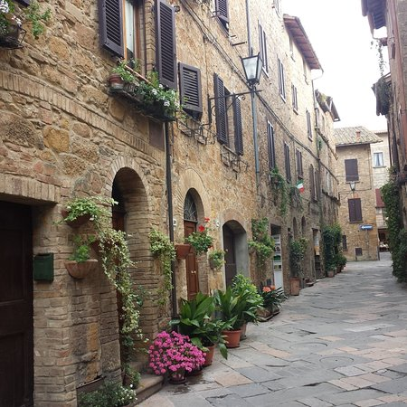 Pienza, Ιταλία: strada del borgo