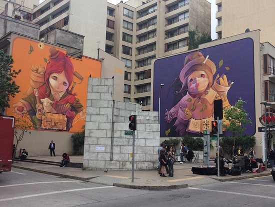 Murales De Inti En Bellas Artes Picture Of Tours 4 Tips Santiago