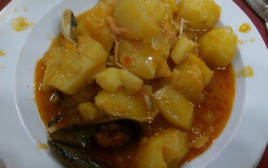 Vegadeo, Hiszpania: guiso de patatas
