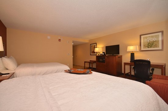 Hampton Inn Troy: 2 Queen Room