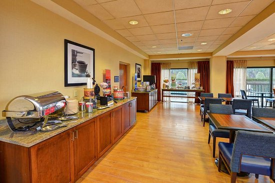 Hampton Inn DeBary/Deltona: Breakfast