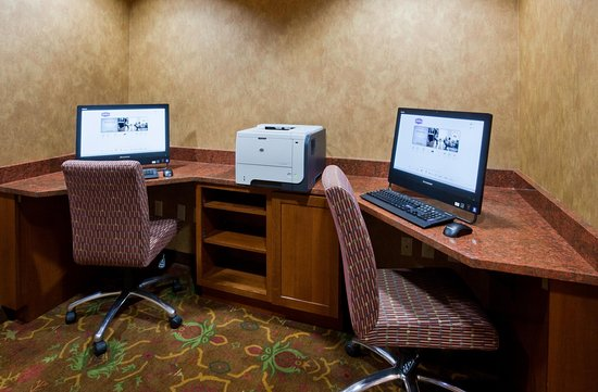 Hampton Inn Duluth: Business Center