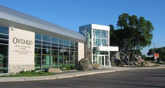 Point Edward, Canada: Sarnia Ontario Travel Information Centre Exterior