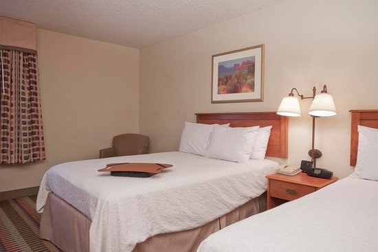 Hampton Inn Phoenix/Chandler: 2 Double Beds Guest Room